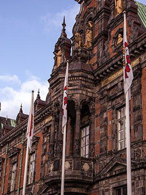 Malmö stad flagga